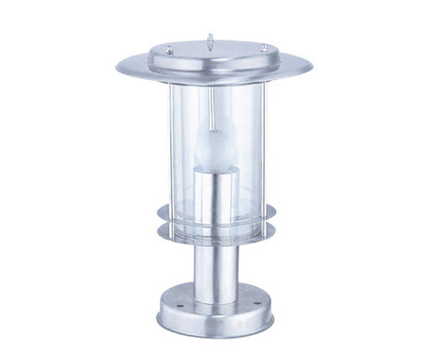 HK-1607 ONEJIANG stainless steel pillar light